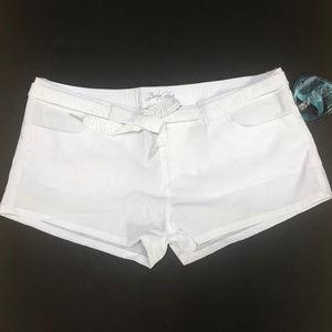 Body Glove Shorts - NEW BODY GLOVE Women's White Swim Short